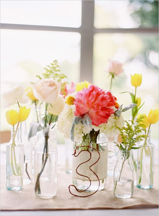 super simple table numbers