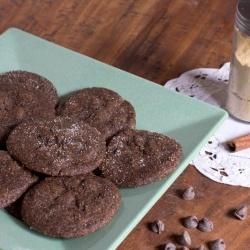 Chewy Chocolate Gingersnap Cookies | cookies, Bars and Brownies | Pin ...