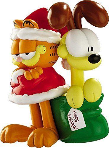 Carlton Heirloom Ornament 2012 Garfield and Odie - #CXOR053B @ niftywarehouse.com #NiftyWarehouse #Geek #Gifts #Collectibles #Entertainment #Merch