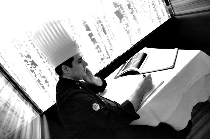 Thinking of the menu...