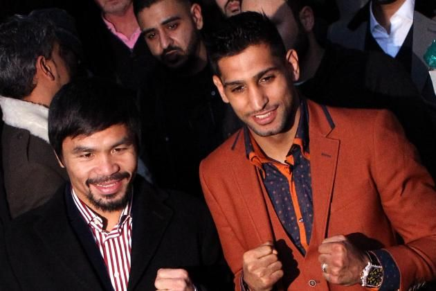Manny Pacquiao vs. Amir Khan: Latest News and Comments on Potential Fight