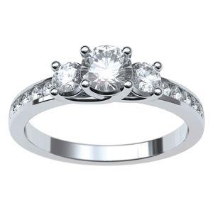 #Anillo con #diamantes @EternityJoyeria