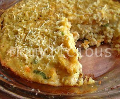 Perkedel kentang panggang - baked potato, Indonesian style