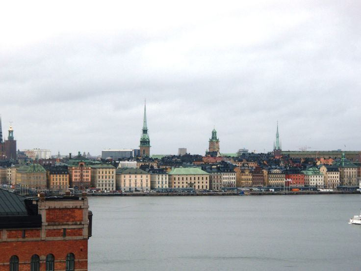 SWEDEN - STOCKHOLM old town overview