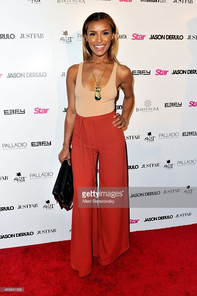 Singer Melody Thornton attends Star Magazine's Hollywood Rocks Event with Jason Derulo at The Argyle on April 15, 2015 in Hollywood, California.