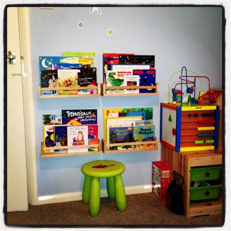 Ikea spice racks for kids books