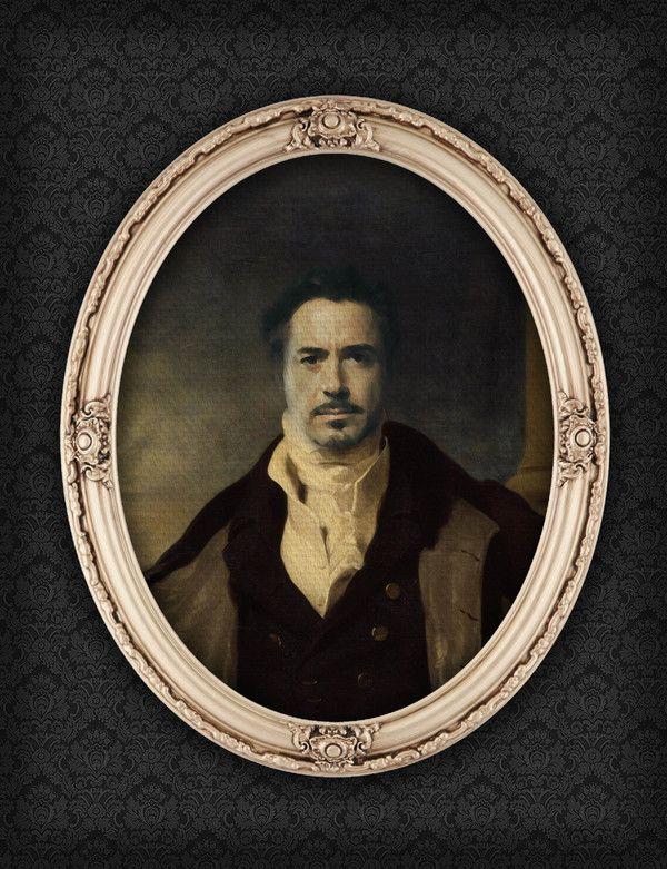 Tony Stark - Portrait, Like a Sir by Berk Senturk on bloodyloud.com