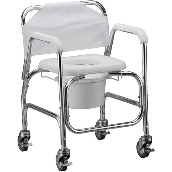 Nova Medical Shower Chair Commode with Locking Caster Wheels 275 best Handicapped Accessories images on Pinterest   Bathtubs  . Folding Chairs For The Shower. Home Design Ideas