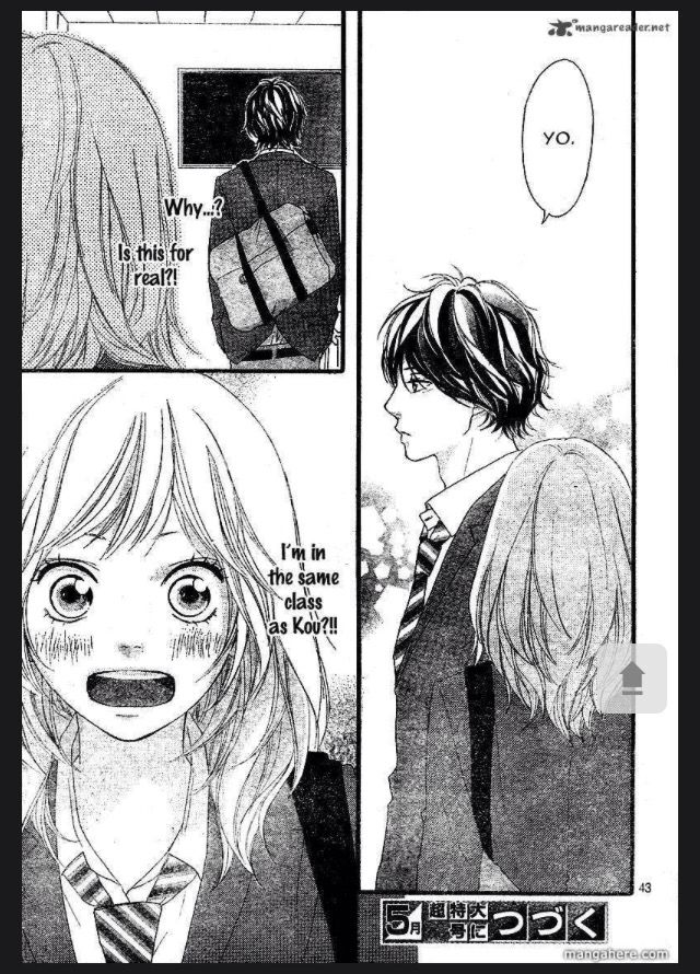 Ao Haru Ride Ch.3 page 42 CHAPTER END