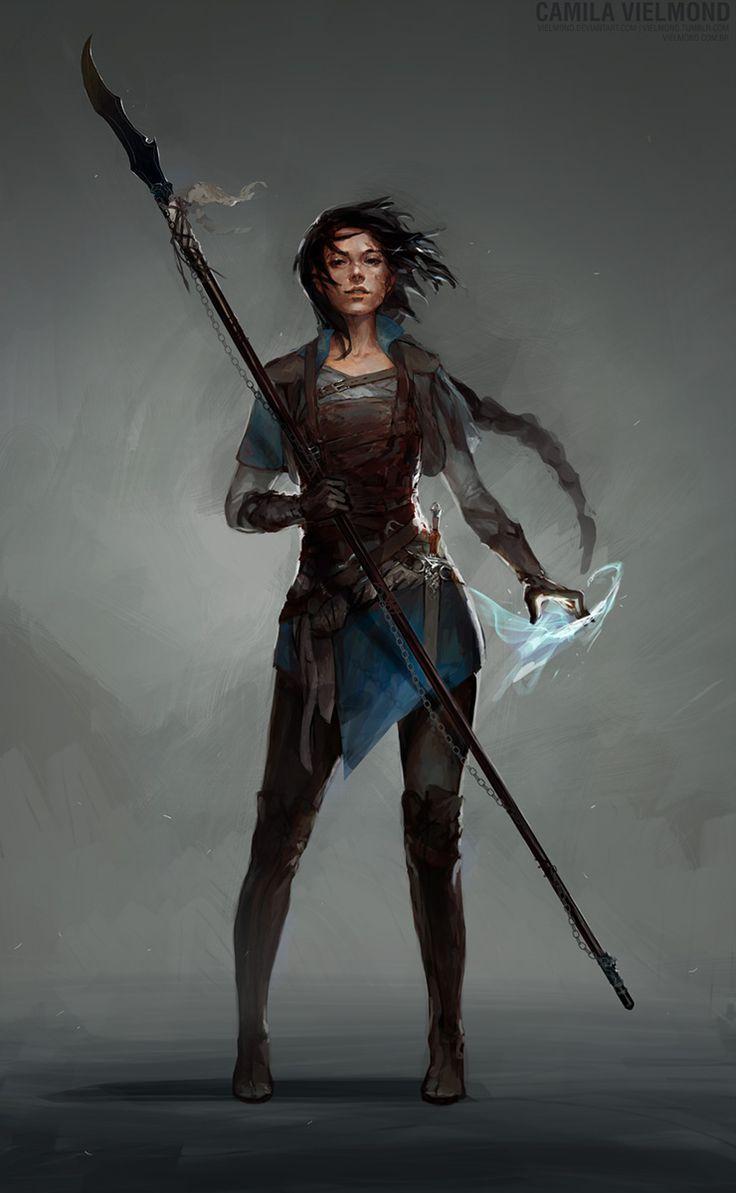 Markus' fraternal twin Elizabeth, Eldritch Knight