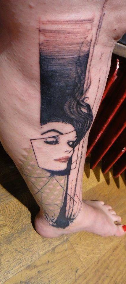 Tattoo Artist: Xoïl (a/k/a Loïc) - Needles Side Tattoo, Thonon-les-Bains, France www.tatteo.com