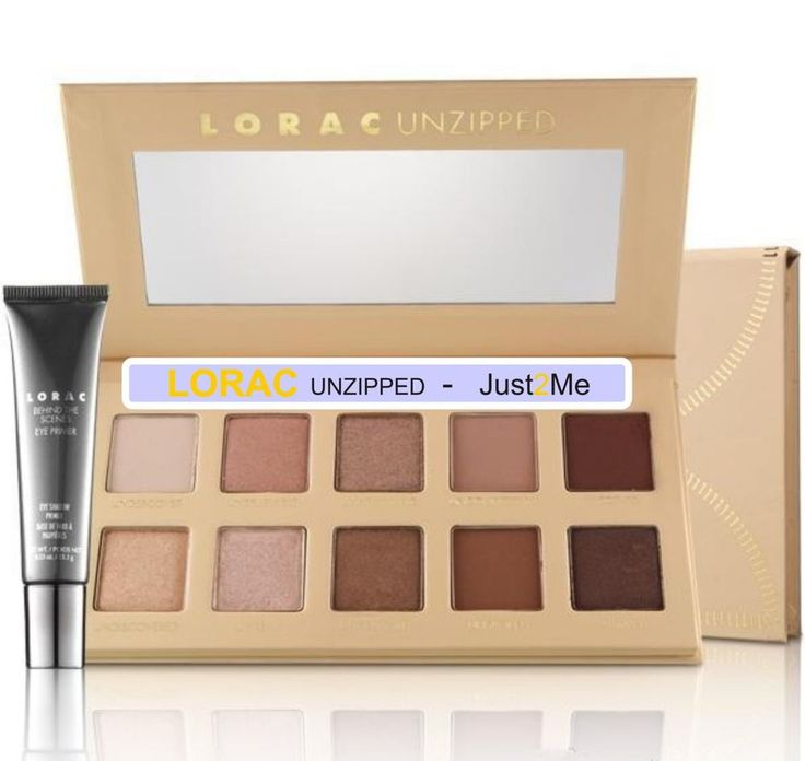 Limited Edition LORAC PRO UNZIPPED Cosmetics Eyeshadow Palette Natural Matte   #Unbranded