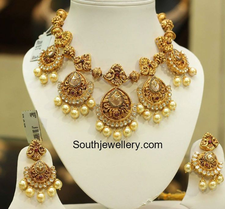 gold jewellery designs, indian jewellery, south indian jewellery, bridal…