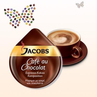 Jacobs Café au Chocolat  #Tassimo #TDISC #Jacobs #cafe #chocolat
