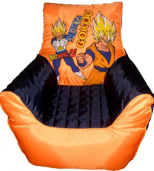 Dbz Chair Dragon Ball Painting Blue Chairs Living Room