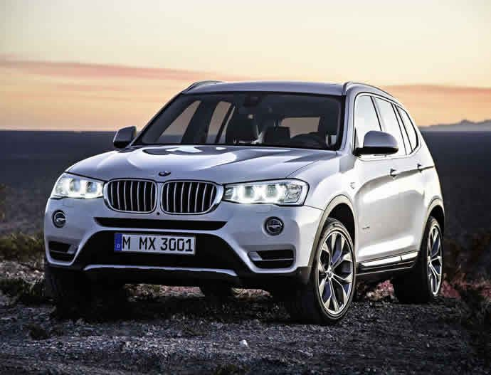 2015 BMW X3 unveiled with restyled exterior, new diesel engines and rear-wheel drive option