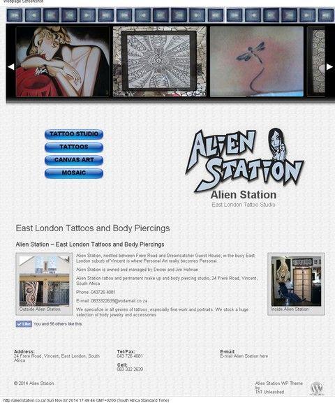 alien station Tattoo studio
