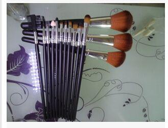 14 pincéis de maquiagem escova fino direto, Conjunto de maquiagem ferramentas de maquiagem alishoppbrasil