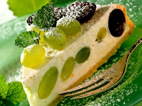 Hartige taart met een fruitige toets