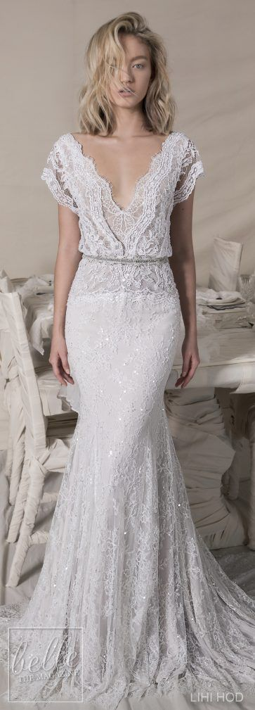 Wedding Dresses by Lihi Hod Fall 2018 Couture Bridal Collection - Alexandra #WddingDress