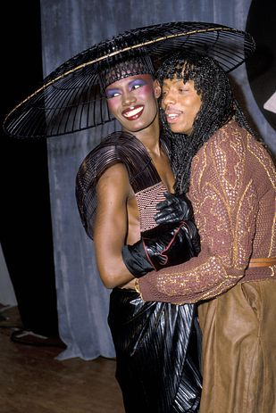 Grace Jones  Rick James - 1983 Grammys