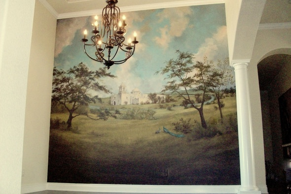 73 best murals images on pinterest murals wall for Wine painting san antonio