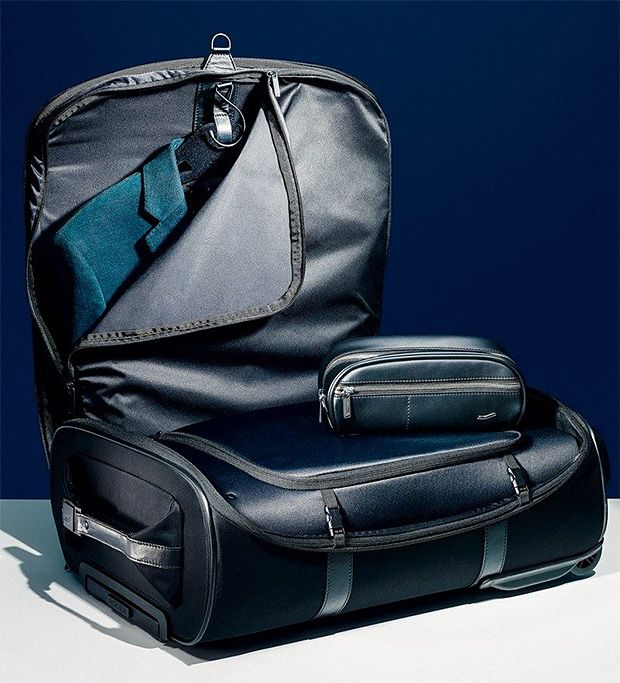 Wrinkle-Free Luggage From Vocier Featuring Patented Zero-Crease Technology