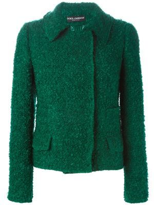 loop knit jacket