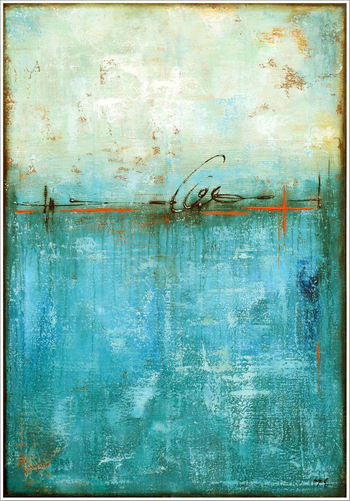 ANTJE HETTNER * Bild ORIGINAL KUNST MALEREI moderne MALEREI abstrakt XXL Acryl …