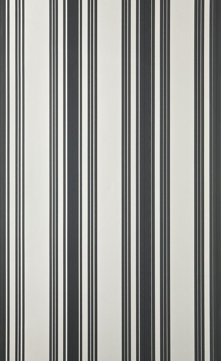 """Tented Stripe"" Wallpaper"