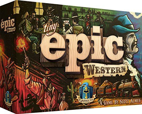 Tiny Epic Western Boardgame