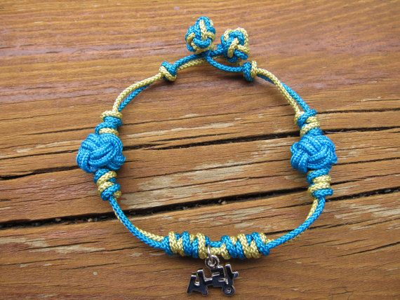 Korean Love Maedeup Bracelet Turquoise and Light by meverden