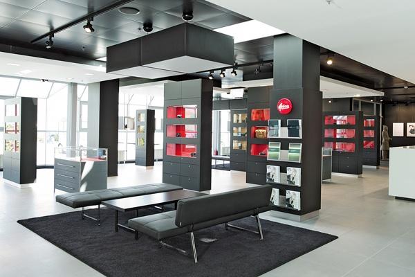 ALLEMAGNE / Leica Store Solms - dans l'usine Leica à 80 km de Francfort