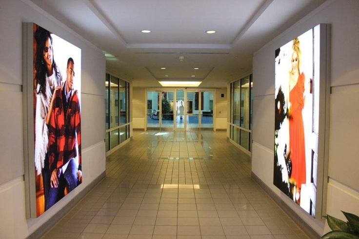 Wall Mount Light Box: tension fabric wall mounted light boxes in entrance | Belk | Pinterest |  Entry ways, Boxes and Entrance,Lighting