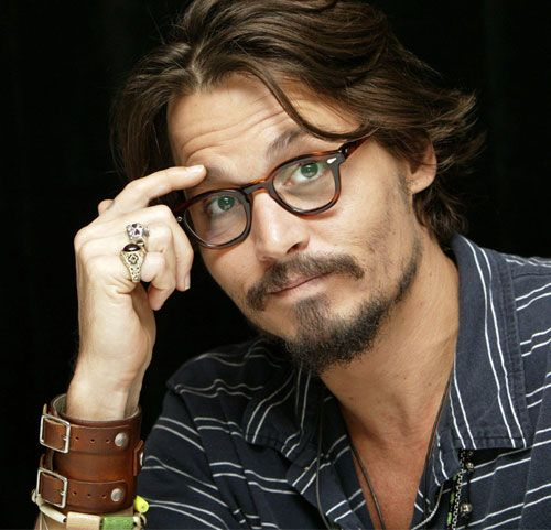Johnny Depp--he's approaching 50--doesn't look a day over 35