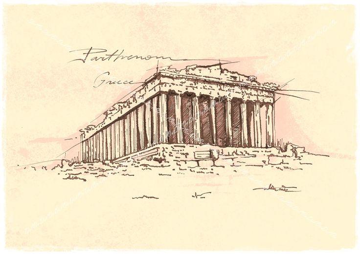 The Parthenon Athena Greece