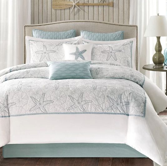 Seashell Bedding Sets! Check Out Our List Of Seashell Comforters, Bedding  Sets, Seashell