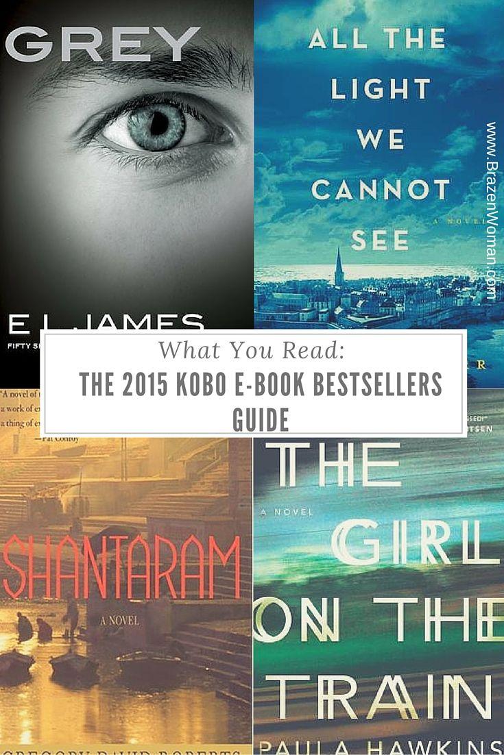 The Brazen Bookworm: Kobo's Top E-reads of 2015