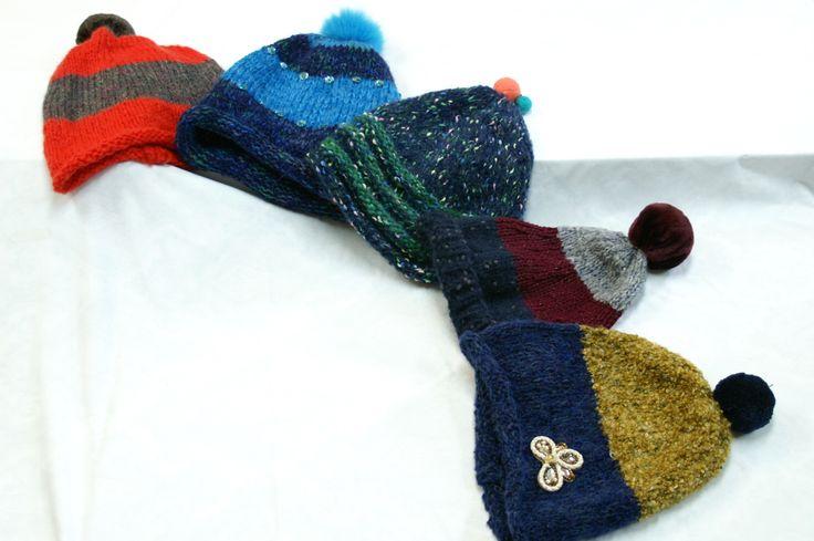 a woolly hat