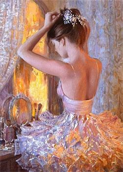 Golden Ballerina-Eugenea--I wish I was a ballerina