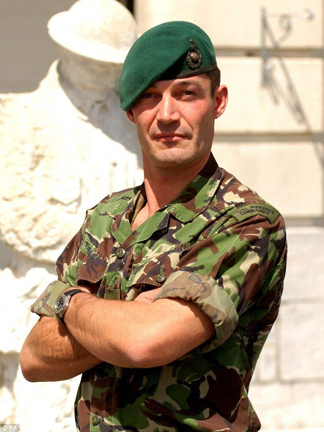 Colonel Oliver Lee, pictured, the youngest Royal Marines officer to hold that rank since W...