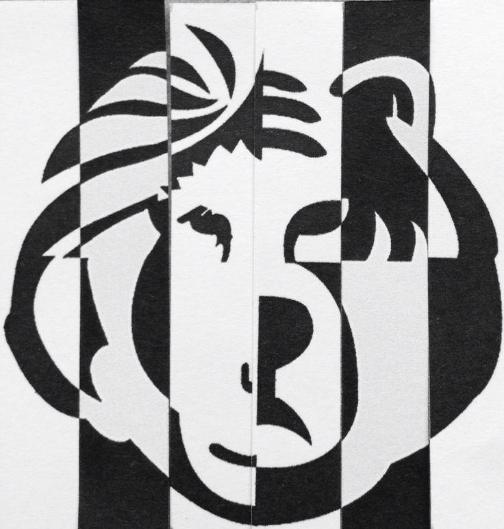 Black & white animal