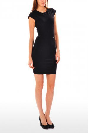 Guess jurk Asisa Dress Jet Black W31K02 K0M Jet Black » JeansandFashion.com