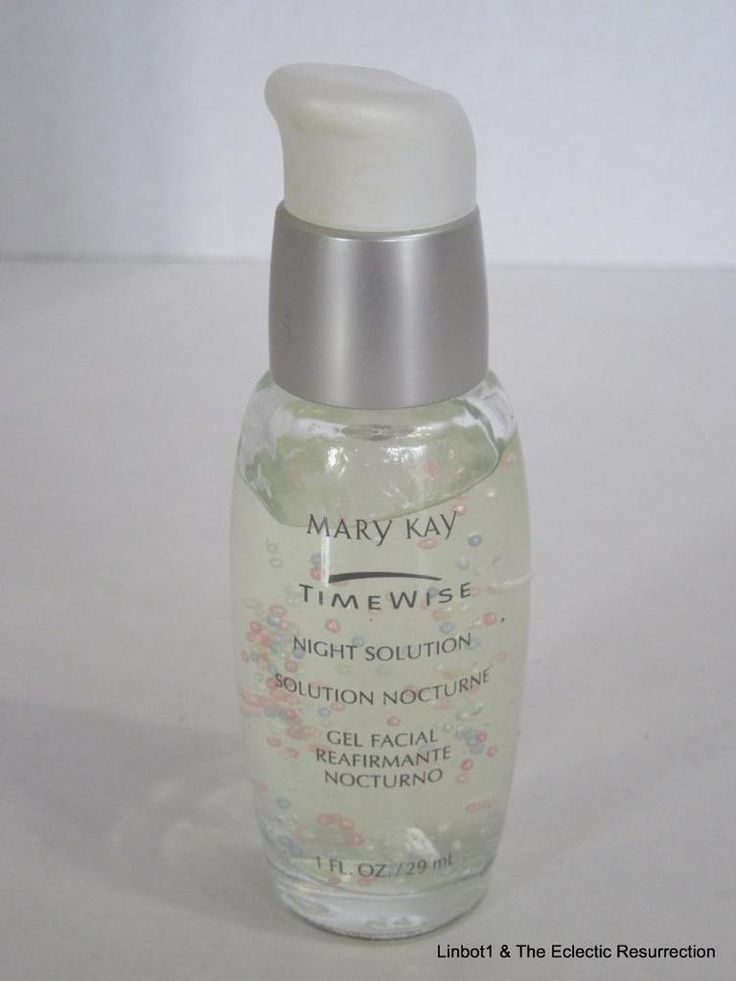 Directions For Mary Kay Timewise Night Solution Gel Facial 100