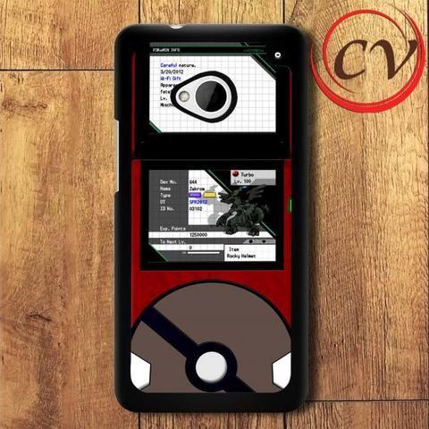 Pokemon HTC One M7 Black Case
