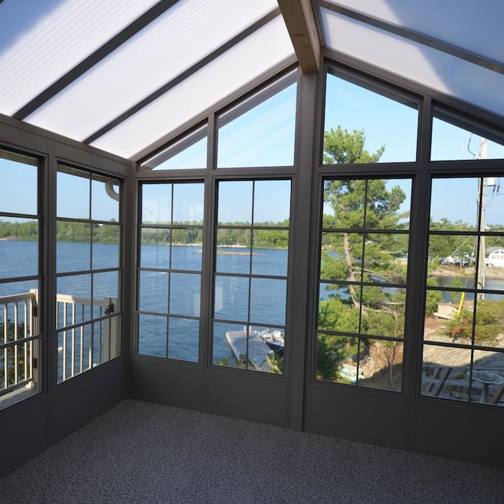 A Beautiful view through our Weathermaster window line looking out onto Georgian Bay!