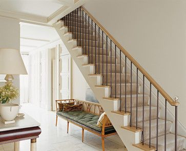 American Modern Thomas O'Brien - traditional - staircase - new york - ABRAMS
