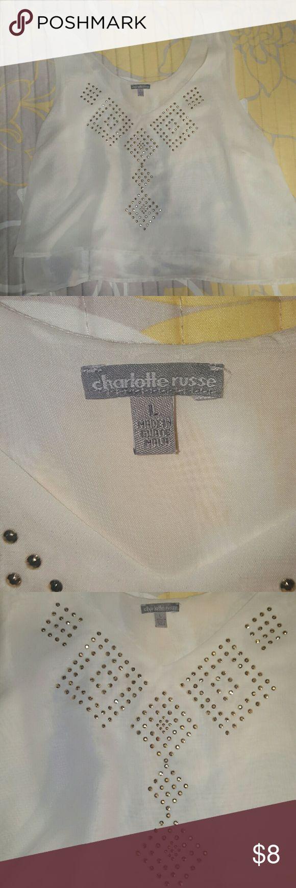 Crop top by Charlotte Russe Crop top by Charlotte Ruuse Tops Crop Tops