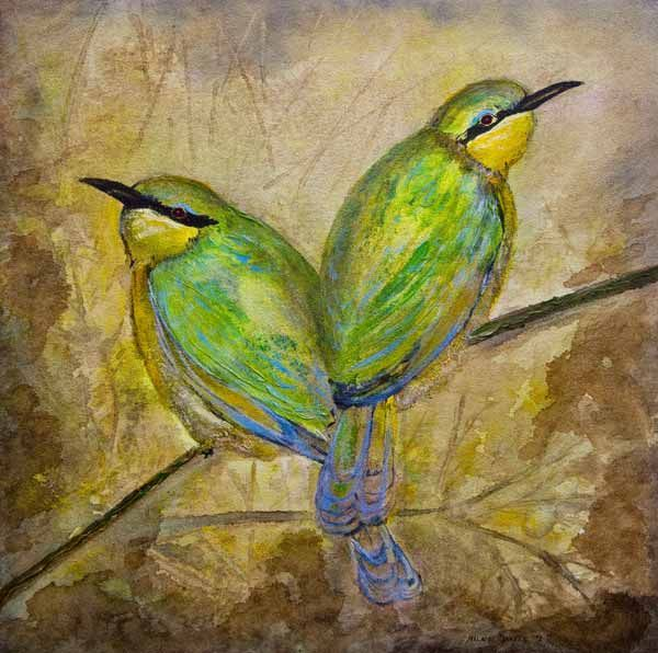 """""""Companionship"""" by Melanie Meyer from her Emergence art Gallery in Cape Town"""