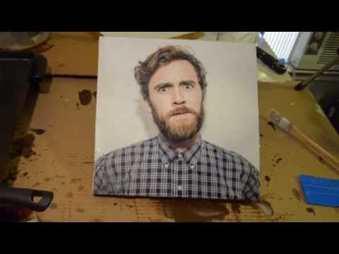 HOW TO - Photo Encaustic - Wax as Texture on Photograph - YouTube